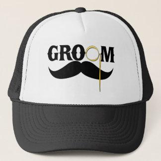 Groom Gentleman Trucker Hat