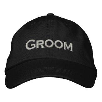 GROOM Hat embroideredhat