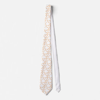 Groom Hearts Wedding Tie Necktie