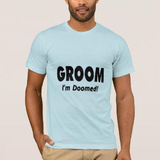 Groom Im Doomed Black T-Shirt