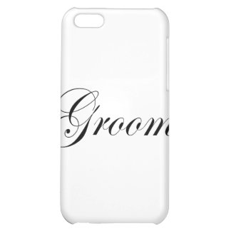 Groom Cover For iPhone 5C