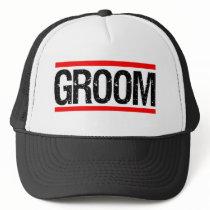 Groom Men's hat funny