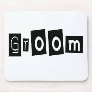 Groom Mouse Mat