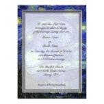 Groom parents invitation, Starry Night Invitations