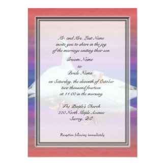 Groom parent's wedding invitations