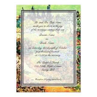 "Groom parents' wedding invitations 5.5"" x 7.5"" invitation card"