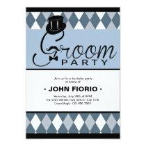 Groom Party Invitation