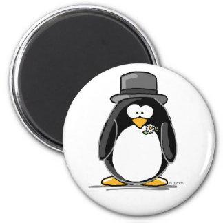Groom Penguin Magnets
