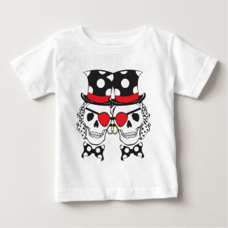 Groom Pirate Skull Black Baby T-Shirt