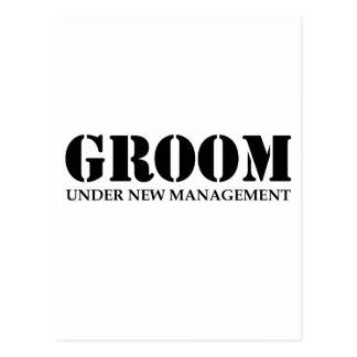 Groom Postcard