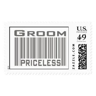 Groom Priceless Stamp