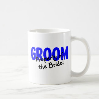 Groom Property Of The Bride Coffee Mug