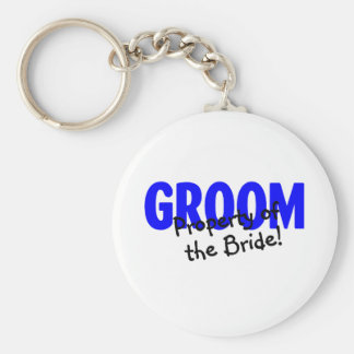 Groom Property Of The Bride Keychains