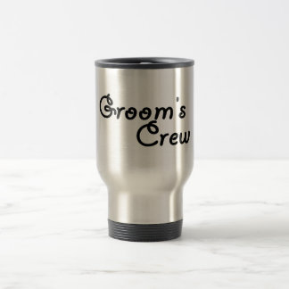 "Groom""s Crew Mugs"