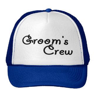 """Groom""""s Crew Trucker Hat"""