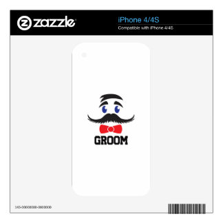 GROOM DECALS FOR THE iPhone 4