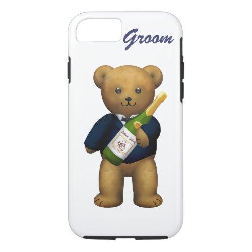 Groom Teddy Bear iPhone 87 Case