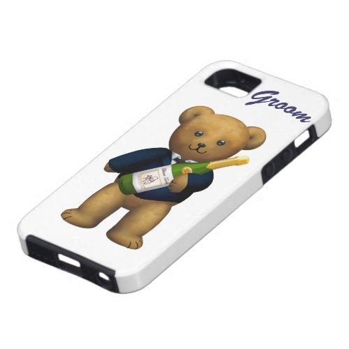 Groom Teddy Bear iPhone SE55s Case