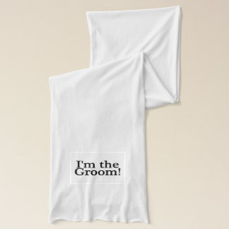Groom To Be Scarf