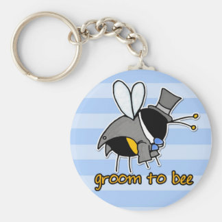 groom to bee keychain