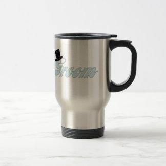 Groom Top Hat Travel Mug