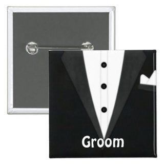 Groom Tux Buttons