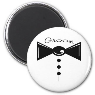 Groom Tux T-Shirts & Gifts 2 Inch Round Magnet