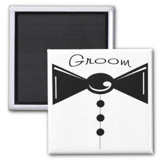 Groom Tux T-Shirts & Gifts 2 Inch Square Magnet