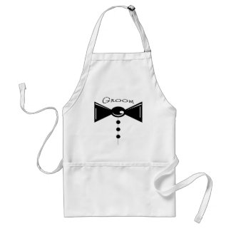 Groom Tux T-Shirts & Gifts Adult Apron