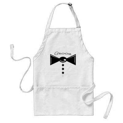 Groom Tux TShirts Gifts Aprons by weddedbliss