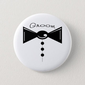 Groom Tux T-Shirts & Gifts Button