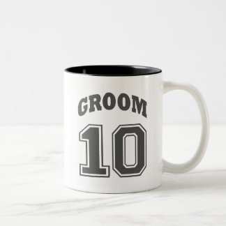 GROOM Two-Tone COFFEE MUG