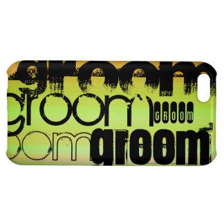 Groom; Vibrant Green, Orange, & Yellow iPhone 5C Covers