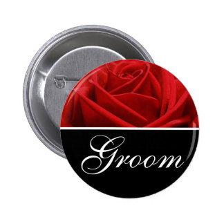 Groom Wedding Designation Pins