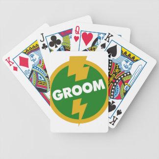 Groom Wedding - Dupree Bicycle Playing Cards