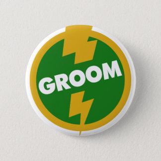 Groom Wedding - Dupree Pinback Button