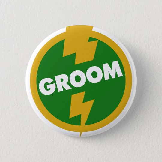 Groom Wedding - Dupree Pinback Button