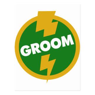 Groom Wedding - Dupree Postcard