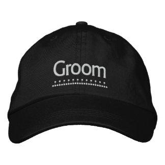 Groom - Wedding embroidered hat