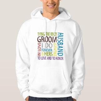 Groom Wedding Hoodie