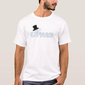 Groom White T-Shirt, S M L XL 1X 2X 3X 4X 5X T-Shirt