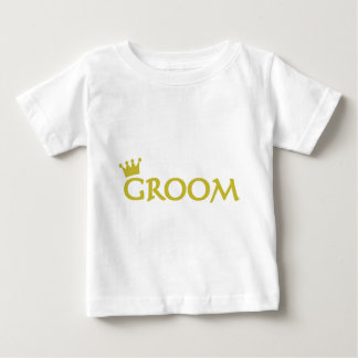 groom with crown icon baby T-Shirt