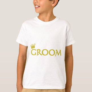 groom with crown icon T-Shirt