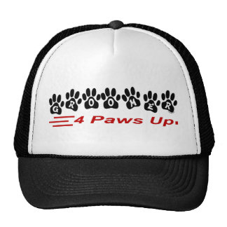 Groomer 4 Paws Up Hat