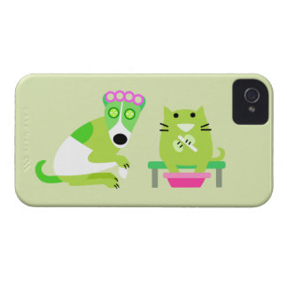 Groomer del mascota iPhone 4 protectores