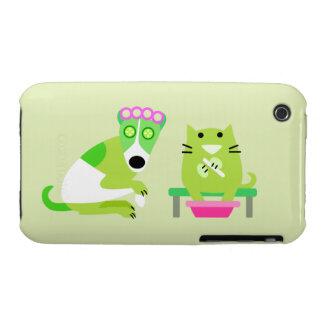 Groomer del mascota iPhone 3 Case-Mate cárcasas
