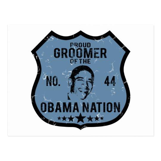 Groomer Obama Nation Postcard