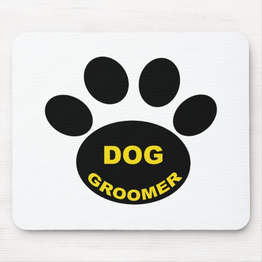 Groomer Paw Mouse Pad