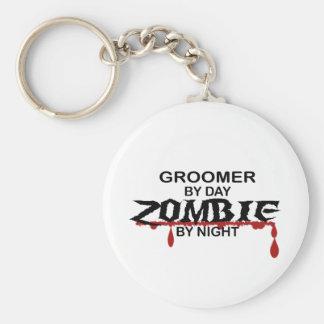 Groomer Zombie Basic Round Button Keychain