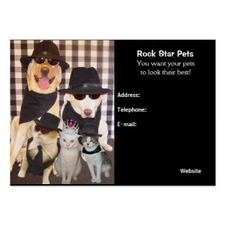 Groomer's Card Large Business Cards (Pack Of 100)